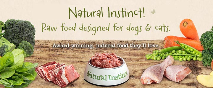 Natural Instinct Raw Food for Dogs and Cats!