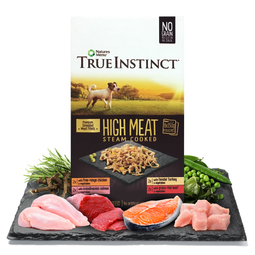 True Instinct High Meat Fillet Multipack for Small Breed Dogs Box