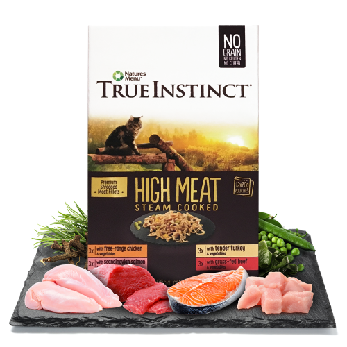 True Instinct High Meat Fillet Multipack for Adult Cats 12x70g Pouches