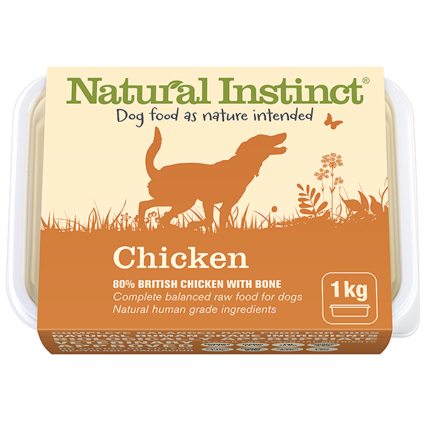 Natural Instinct Dog Chicken 1kg Tub