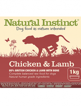 Natural Instinct Chicken & Lamb 1kg Tub