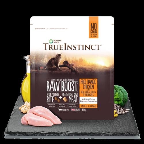 True Instinct Raw Boost Cat Food 300g Bag