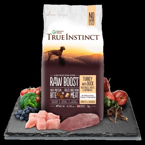 True Instinct Raw Boost Dog Turkey and Duck Bag