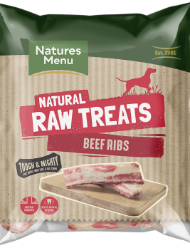 Natures Menu Raw Beef Ribs Bag