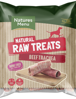 Natures Menu Raw Beef Trachea Bag