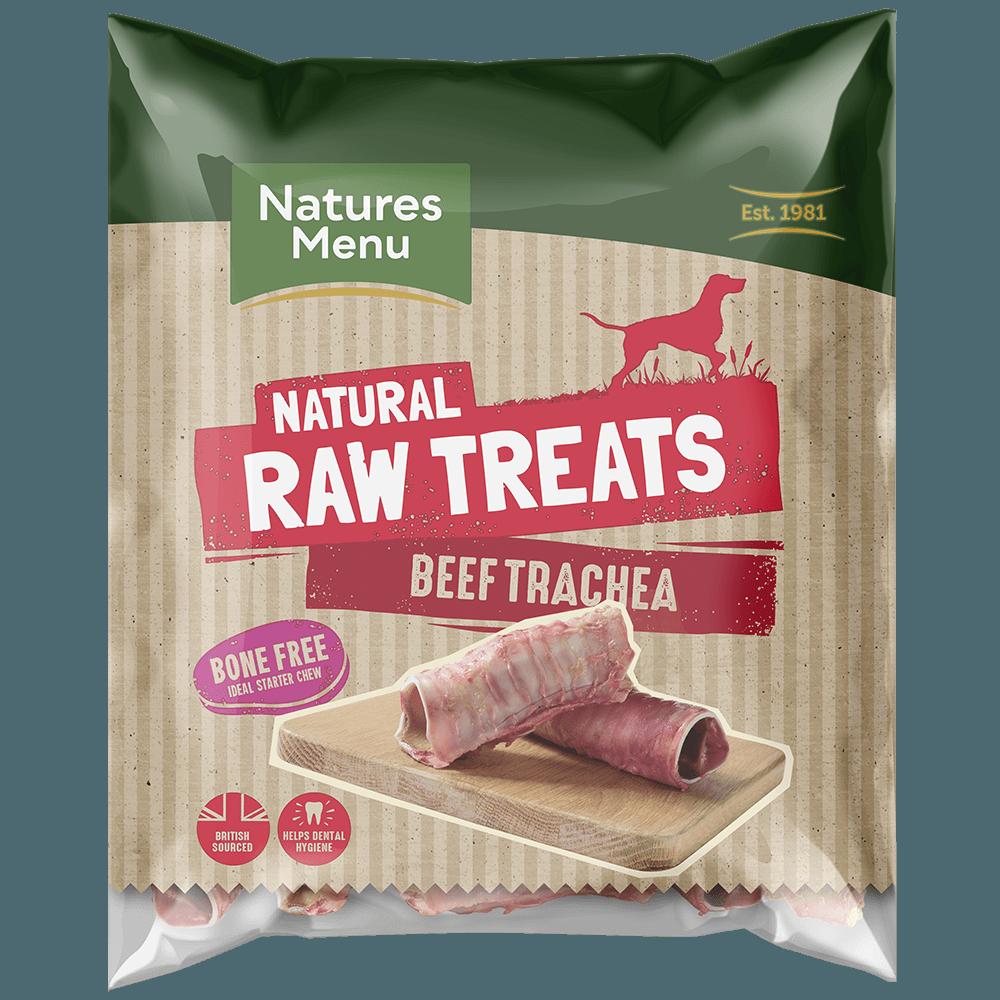 Natures Menu Raw Beef Trachea Bag