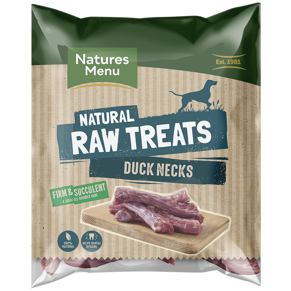 Natures Menu Raw Duck Necks Bag