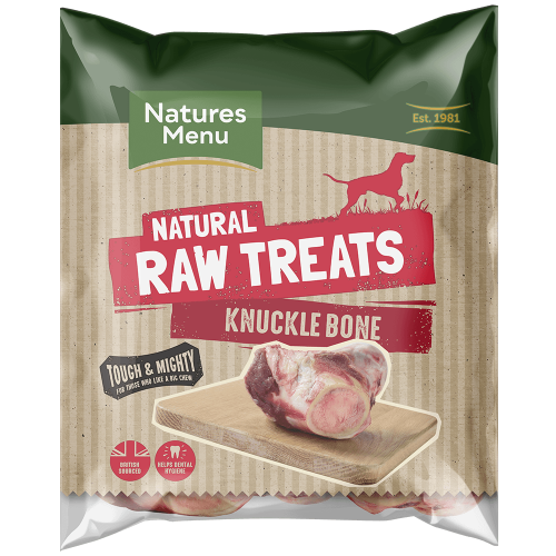 Natures Menu Raw Beef Knuckle Bones Bag