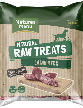 Natures Menu Raw Lamb Neck Bag