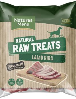 Natures Menu Raw Lamb Ribs Bag