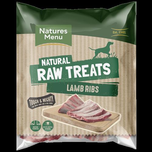 Natures Menu Raw Lamb Ribs Bag
