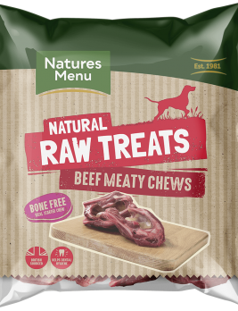 Natures Menu Raw Meaty Beef Chews