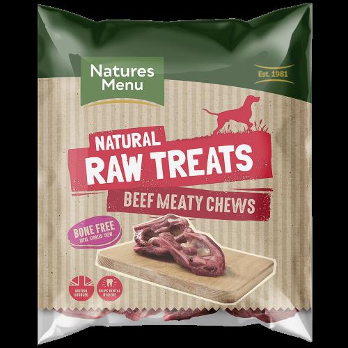 Natures Menu Raw Meaty Beef Chews