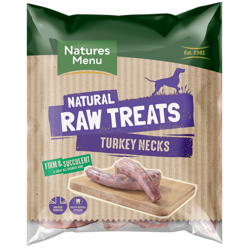 Natures Menu Raw Turkey Necks Bag
