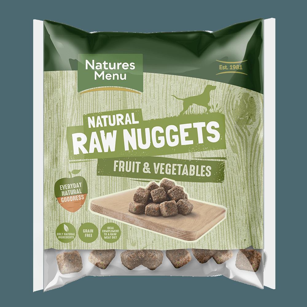 Natures Menu Blended Fruit and Vegetable Nuggets 1kg Bag