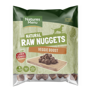 Natures Menu Veggie Boost Nuggets 1kg Bag