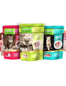 Natures Menu Cat Food Multipack 12 x 100g Pouches