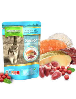 Natures Menu Cat Food Senior 100g Pouch