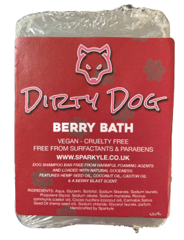 Dirty Dog Berry Bath Shampoo Bar