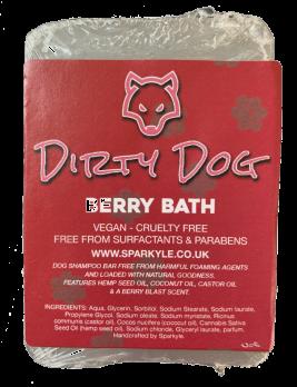 Dirty Dog Berry Bath Shampoo Bar
