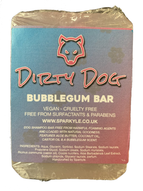 Dirty Dog Bubblegum Shampoo Bar