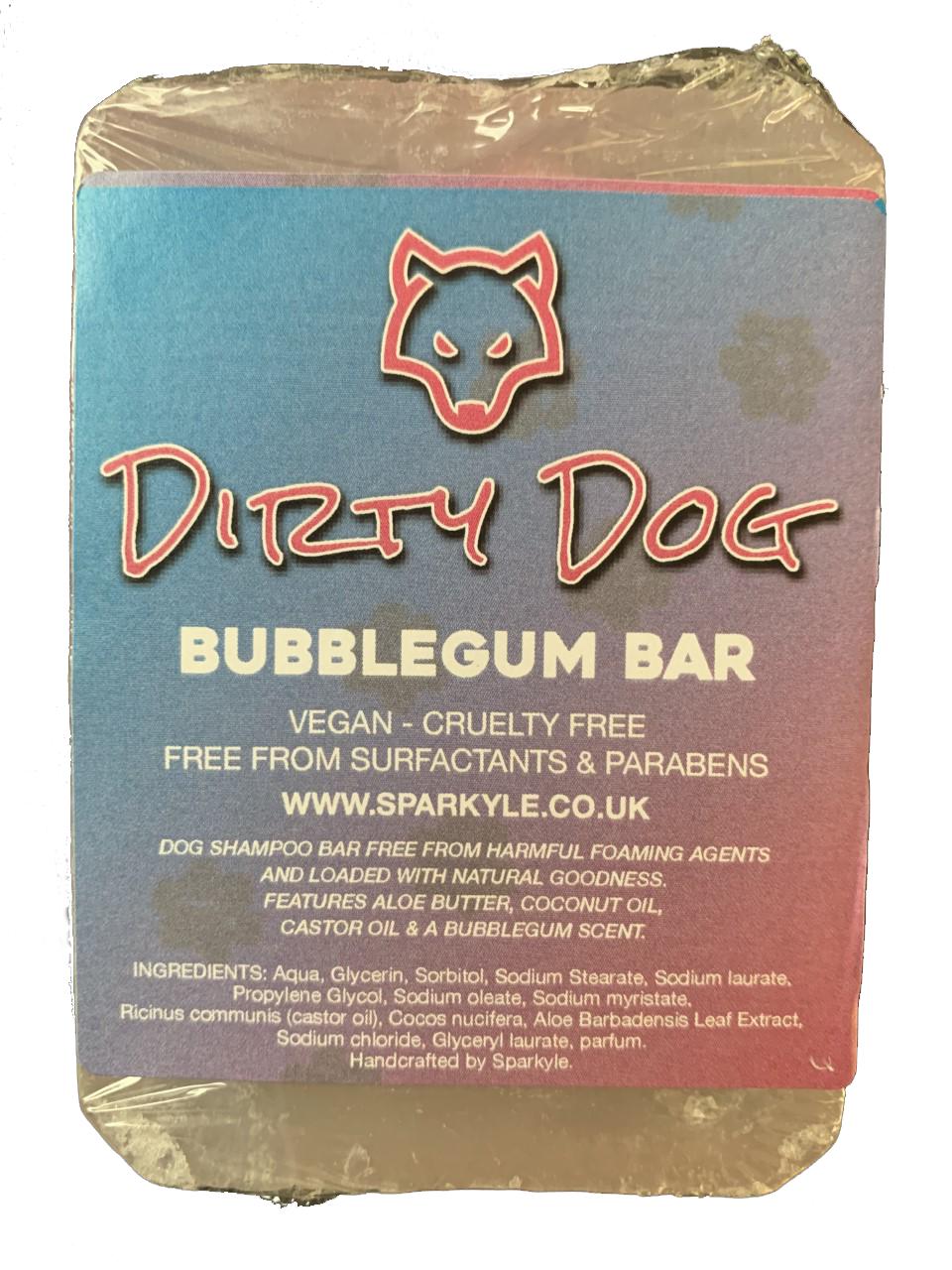 Dirty Dog Bubblegum Shampoo Bar