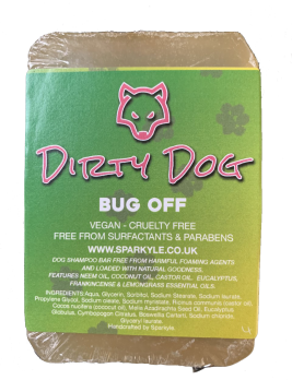 Dirty Dog Bug Off Shampoo Bar
