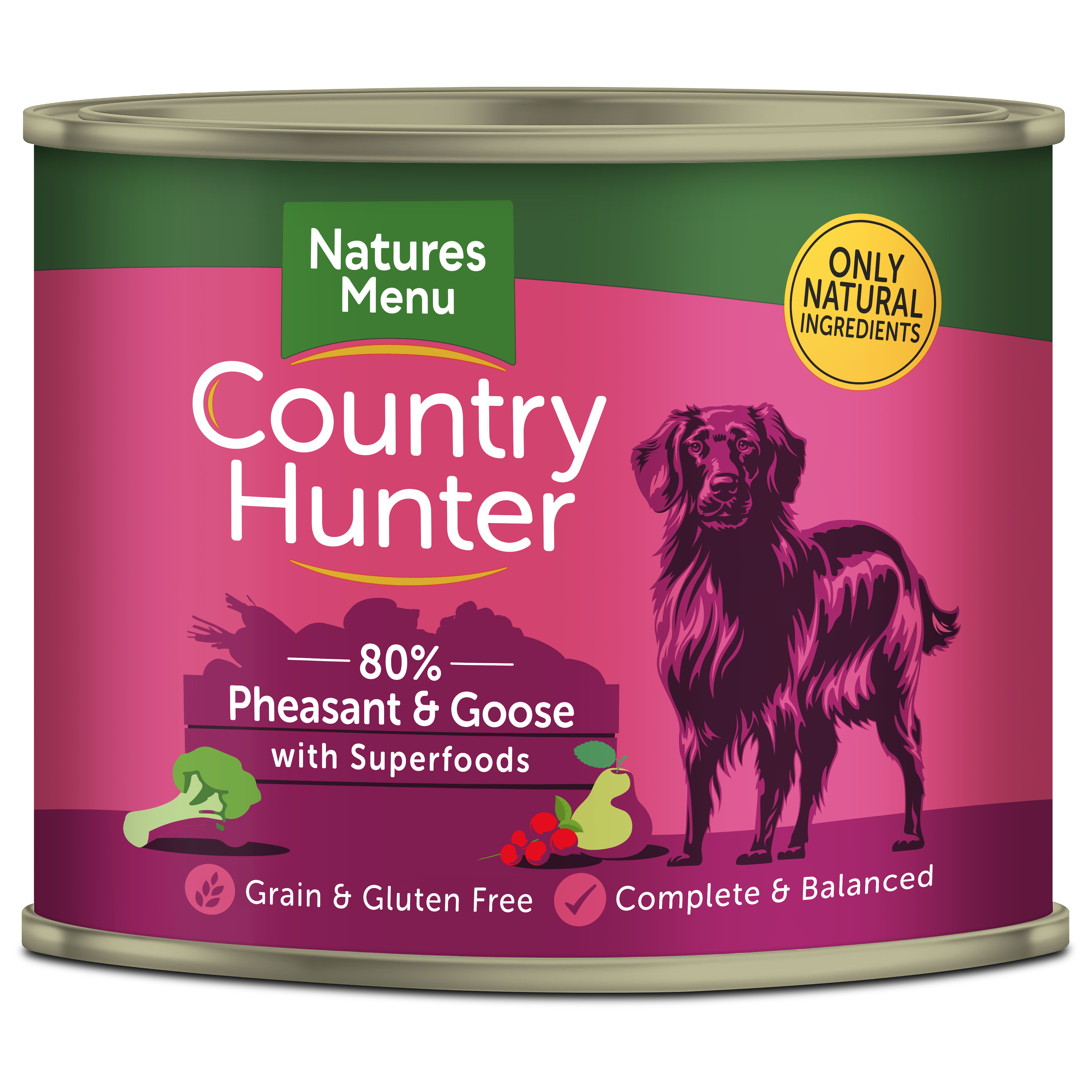 Country Hunter Pheasant and Goose 600g Can Front