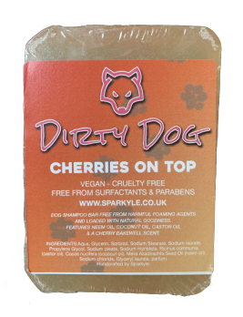 Dirty Dog Cherries on Top Shampoo Bar