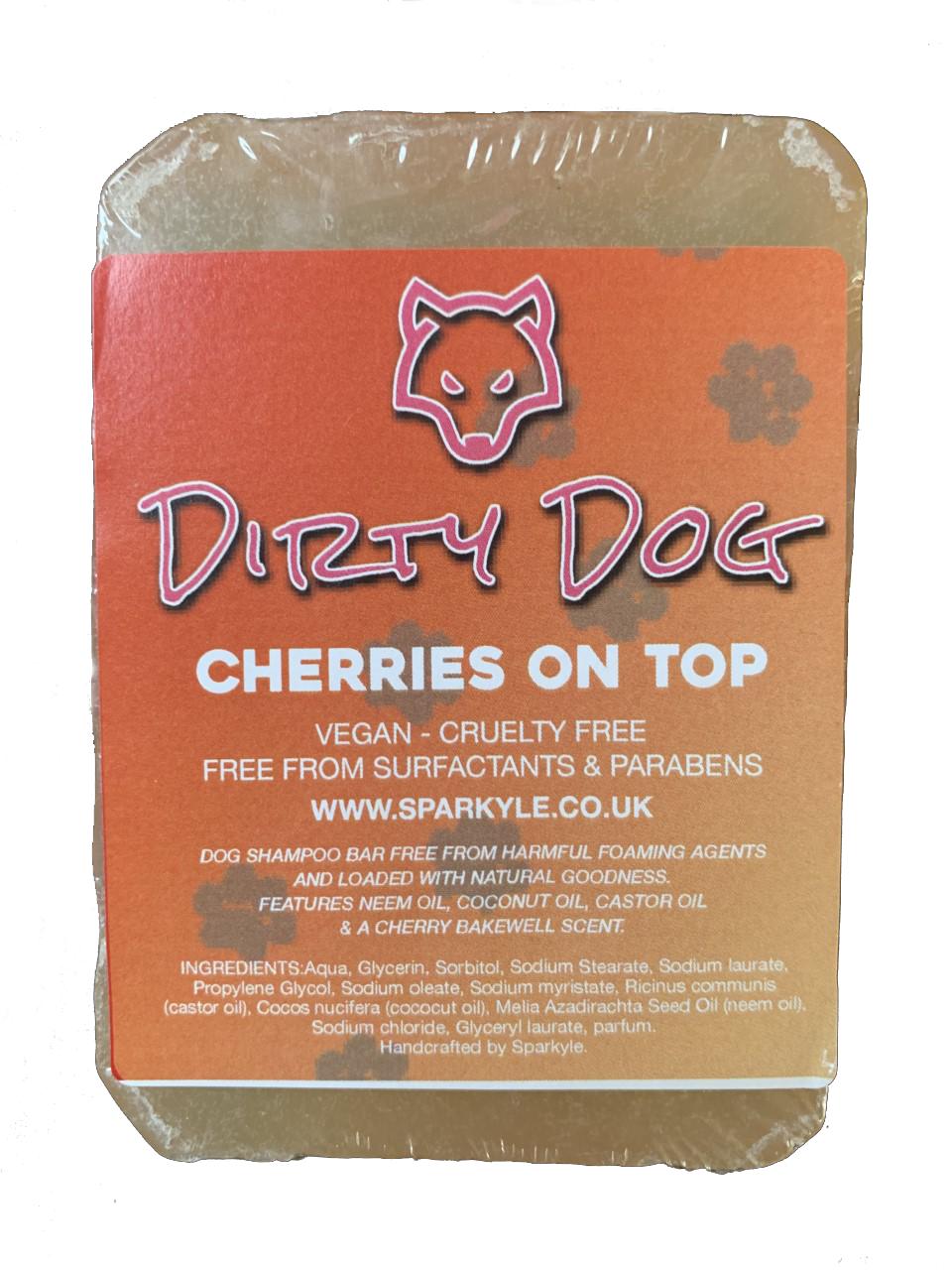 Dirty Dog Cherries on Top Shampoo Bar