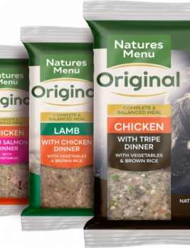 Natures Menu Original Raw Meals Multipack 12 x 300g Packshot