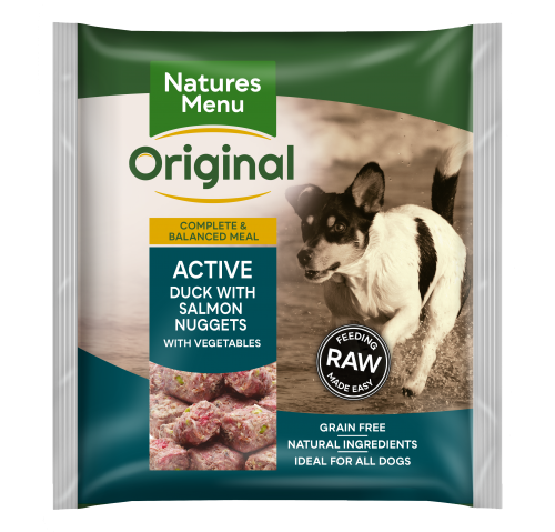 Natures Menu Active Nuggets Front of Pack