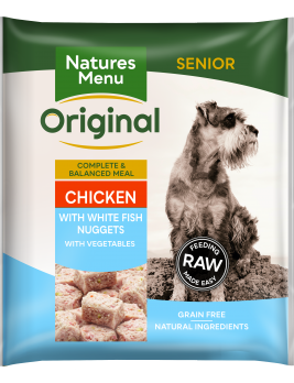 Natures Menu Senior Nuggets Front of Pack