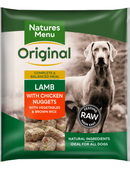 Natures Menu Lamb Nuggets Front of Pack