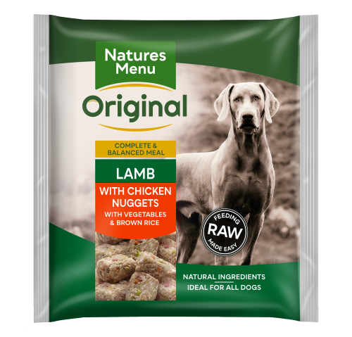 Natures Menu Lamb Nuggets Front of Pack