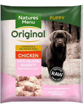 Natures Menu Puppy Nuggets Front of Pack