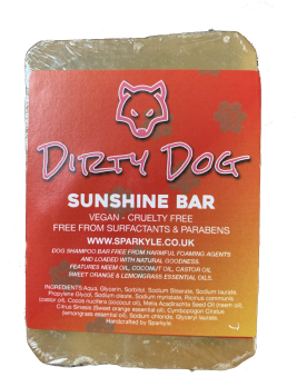 Dirty Dog Shunshine Bar Shampoo Bar