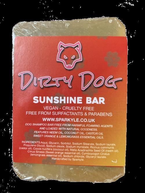 Dirty Dog Shunshine Bar Shampoo Bar