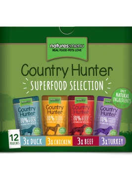 Country Hunter Superfood Selection 12 x 150g Pouches