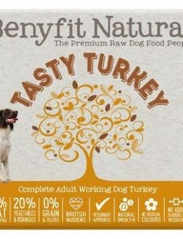 Benyfit Natural Tasty Turkey 1kg Tub