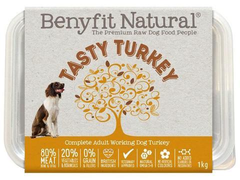 Benyfit Natural Tasty Turkey 1kg Tub