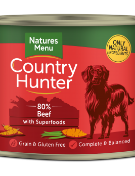 Country Hunter Beef with Superfoods 600g Can