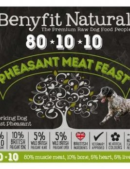 Benyfit Natural Pheasant Meat Feast 1kg Tub