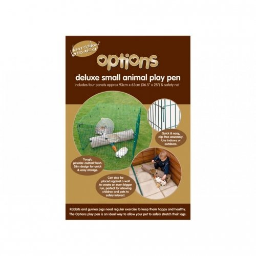 Options Rabbit Playpen with net