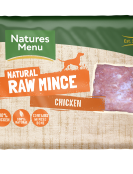 Natures Menu Chicken Block 400g Front of Pack