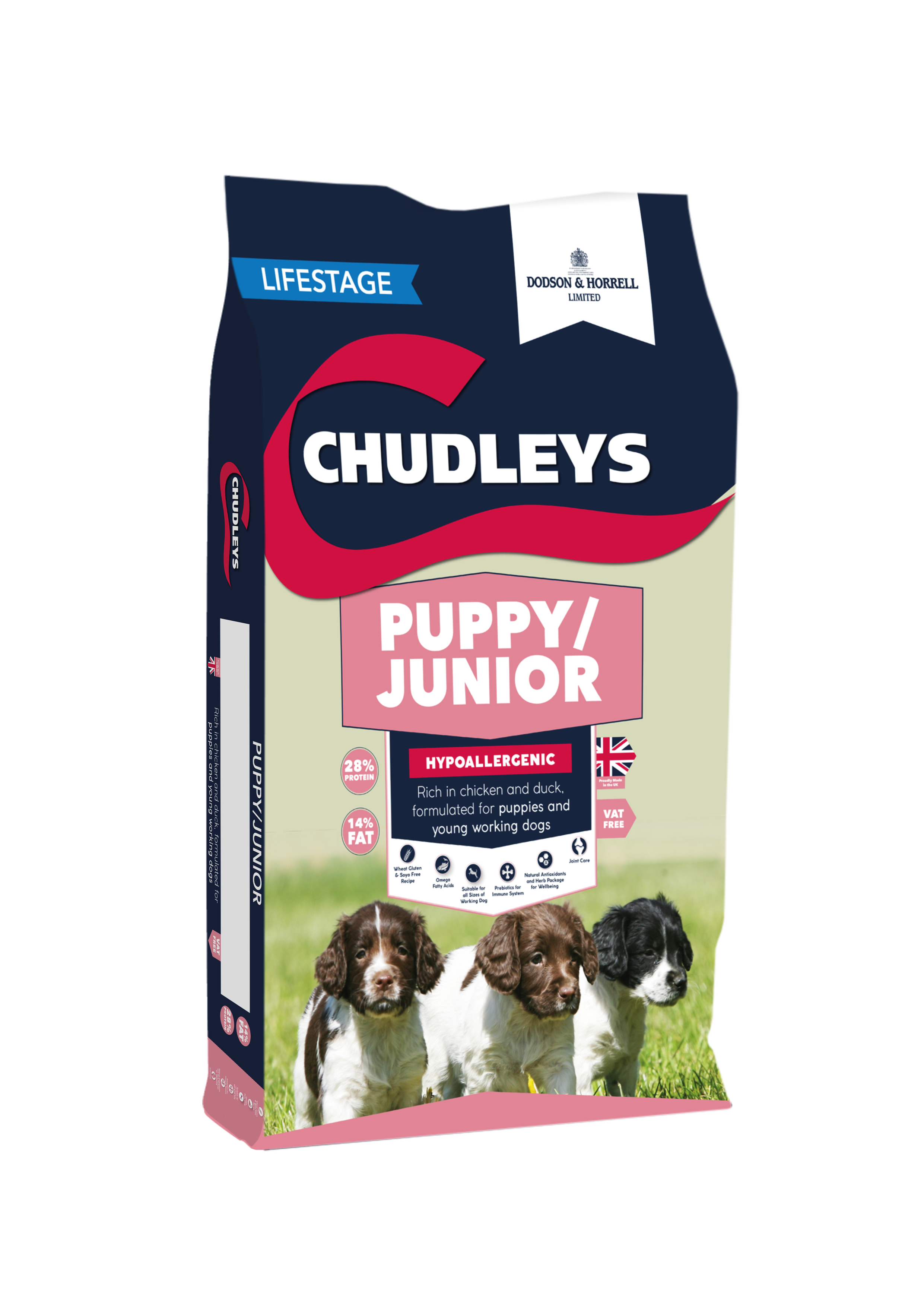 Chudleys Puppy Junior 12kg Bag