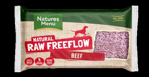 Natures Menu Freeflow Beef 2kg Front of pack