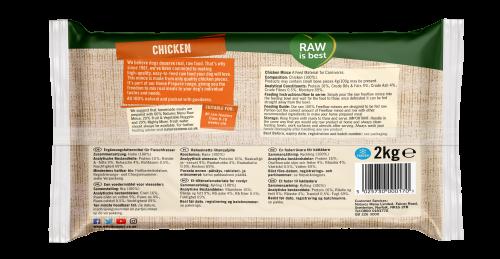 Natures Menu Freeflow Chicken 2kg Back of Pack