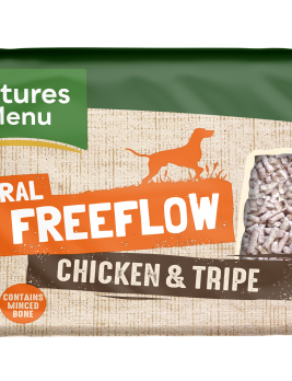 Natures Menu Freeflow Chicken & Tripe 2kg Front of pack