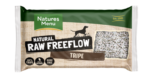 Natures Menu Freeflow Tripe 2kg Front of pack